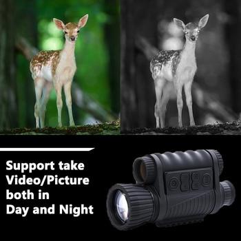 WG650 Night Vision Monocular  Night Hunting Scope Sight Riflescope Night Vision Telescope Optical Night Sight Free Ship 4