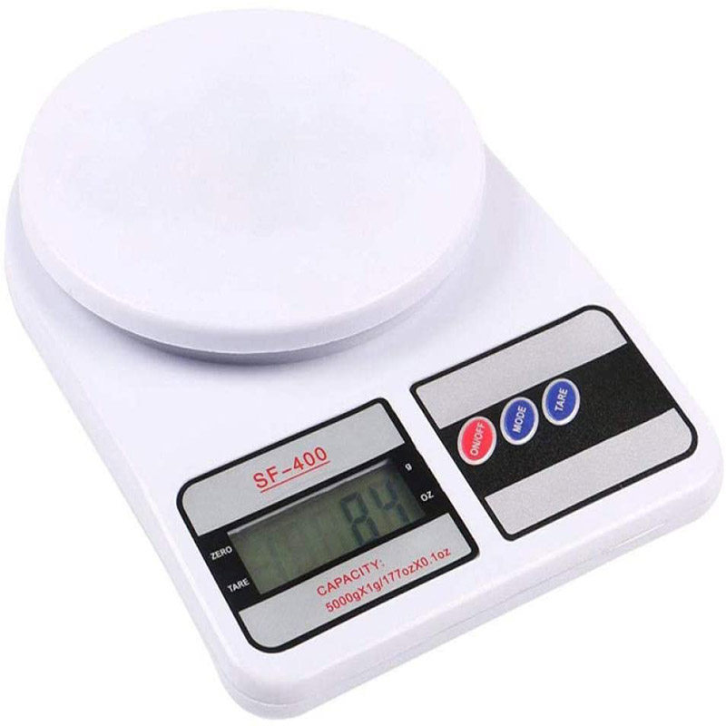 Electronic Digital Kitchen Scale Food Diet Weight Balance Bake Weaning SF-400