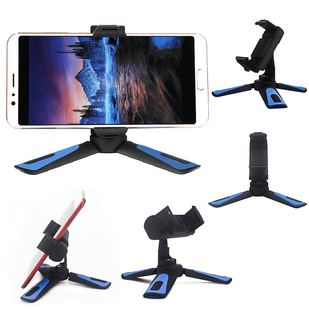 360 Degree Rotating Angle Of View Multifunctional Lazy Desktop Mobile Phone Stand Bracket Adjustable Triangle Bracket