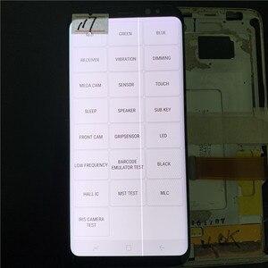 Image 2 - الأصلي 5.8 AMOLED لسامسونج غالاكسي S9 G960A G960U G960F LCD عرض تعمل باللمس محول الأرقام الجمعية مع خط