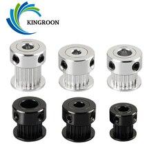 5PCS 16//20T Aluminum GT2 Timing Pulley Bore 5//6//8mm For 3D Printer 6mm Belt CG