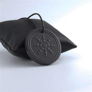 Nouveau femmes hommes quantique noir pierre de lave colliers pendentif scalaire énergie Neg Ions Protection Lot seulement pendentif