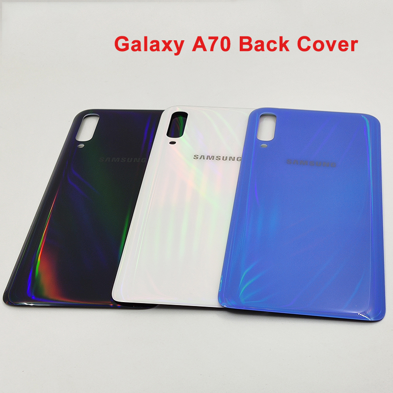 Samsung Back-Cover Galaxy A70 Case Replacement for Rear Door SM-A705F title=