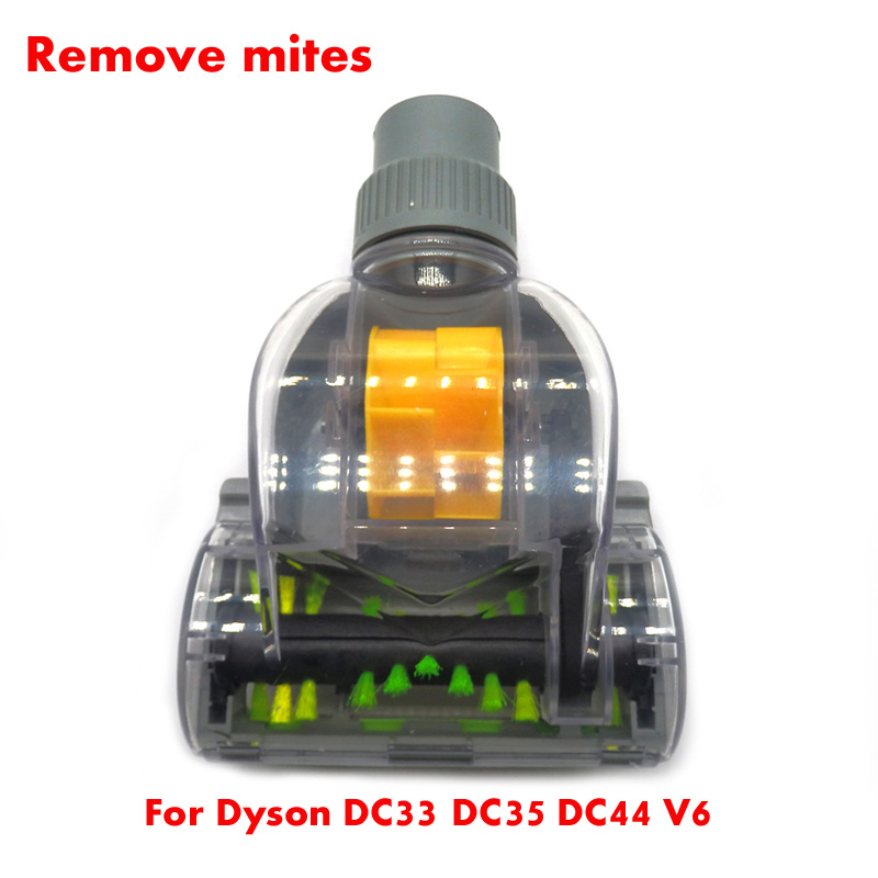 Vacuum Cleaner Remove Mites Brushes Kit For Dyson V6 DC33 DC35 DC44  Wireless Handheld Vacuum Cleaner Robot Dyson Part Brush