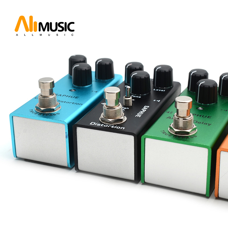 SAPHUE Electric Guitar Pedal Vintage Overdrive/Distortion Crunch/Distortion/US Dream/Classic Chorus/Vintage Phase/Digital Delay Guitar Parts & Accessories    - AliExpress