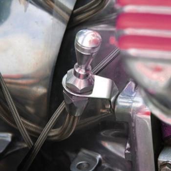 LS Car Engine Flexible Oil Black Dipstick Tube Dip Stick LS1 LS2 LSX 5.7 6.0