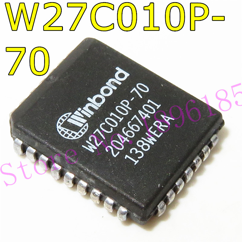 W27C010P-70 PLCC-32 128 k x 8 eprom eletricamente apagável
