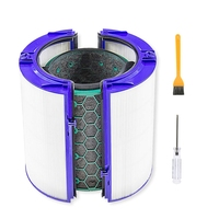 Substituição quente purificador de ar limpeza casa filtro hepa conjunto para dyson tp04 tp05 hp04 hp05 dp04|Peças de purificador de ar| |  -