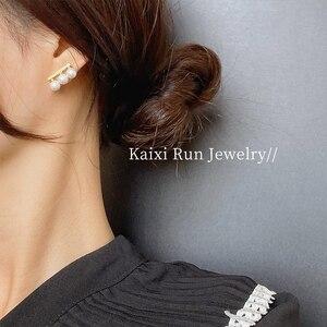 Простые корейские женские маленькие серьги KXR, новинка 2021, Модная бижутерия, серьги, характерные серьги для женщин