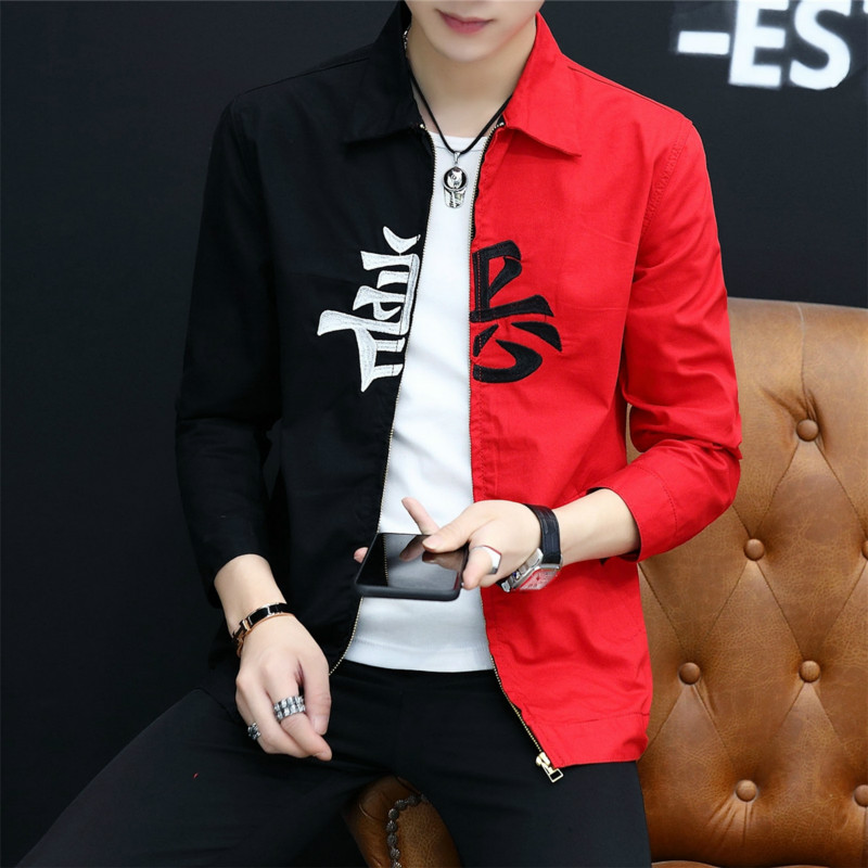 Cheap Wholesale 2019 New Autumn Winter Hot Selling Men's Fashion Netred Casual   Work Wear Nice Jacket MW392