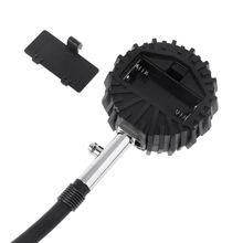 0-200PSI цифровой манометр с круглой головкой в шинах для цикла автомобиля грузовика мотоцикла 35ED