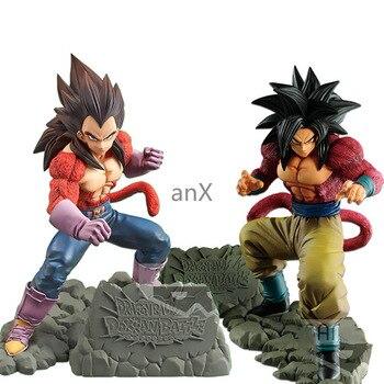 15cm anime Dragon ball Z goku PVC Action Figure Toys anime black hair Vegeta goku dolls collectible Model Toys kid gift цена 2017