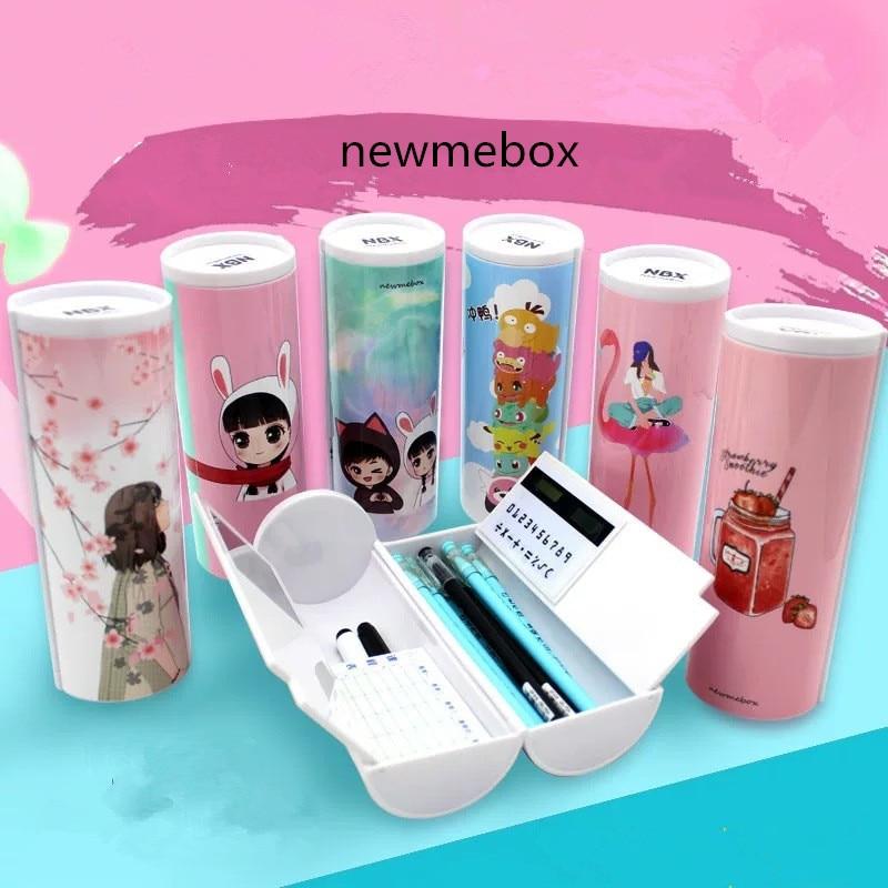 Unicorn Pencil Case Flamingo School Supplies Newmebox Estuche Escolar Kawaii Rousse Scolaire Stylo Nbx Pencil Box Pencilcase