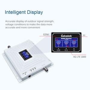 Image 3 - Wzmacniacz sygnału trójpasmowego Lintratek 900 1800 2100Mhz wzmacniacz GSM 3G 4G wzmacniacz LTE wzmacniacz telefonu komórkowego 2G 3G 4G 65dB GDW #3.9