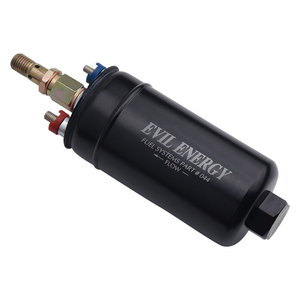 Image 4 - Universal 380LPH High Pressure Electric Inline Fuel Pump E85 Compatible Fuel Pump Replace Kit Fit For AN10 Inlet/ AN8 Outlet
