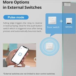 Image 2 - 1/30 PCS Sonoff מיני Wifi מתג R2 DIY שני דרך חכם מתג ממסר מודול מתג אלחוטי חכם בית אוטומציה עבודה עבור eWelink