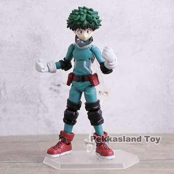 My Hero Academia Midoriya Izuku Figma 323 PVC Action Figure Collectible Model Toy Brinquedos 1