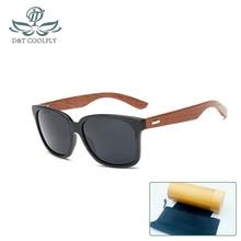 Mode lunettes de soleil en bois hommes femmes été classique bambou lunettes de soleil marque Designer Original lunettes de soleil cadre fait à la main 1519