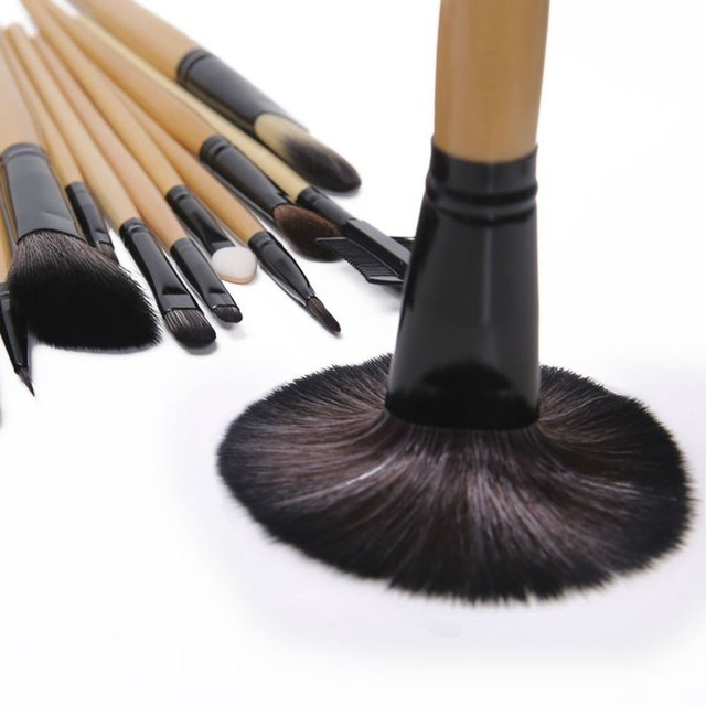 Gift Bag Of  24 pcs Makeup Brush Sets Professional Cosmetics Brushes Eyebrow Powder Foundation Shadows Pinceaux Make Up Tools 3