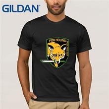 GILDAN Metal Gear Solid T Shirt fox Hound T-Shirt Cotton Men Women Unisex Clothing Tee MGS Tshirt Short Sleeve Plus Size