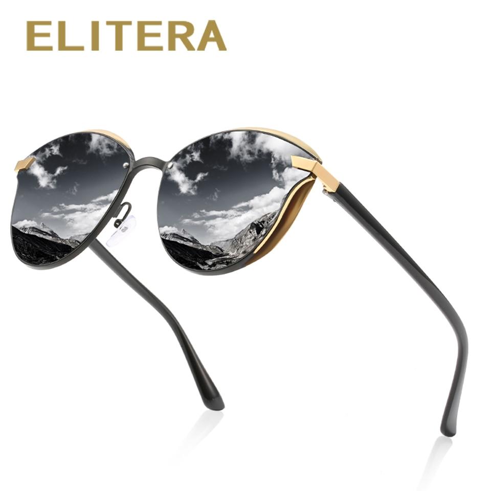 ELITERA Polarized Cat Eye Sunglasses 2020 Luxury Women Men Driving Shades Female Sun Glasses Vintage Classic Eyeglasses Women's