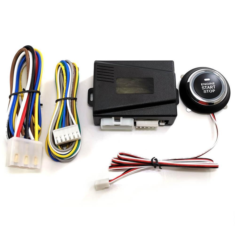 Car Engine Push Start Button Ignition Starter Keyless Engine Start Stop Push Button Start Stop Button Remote Engine Start 9001