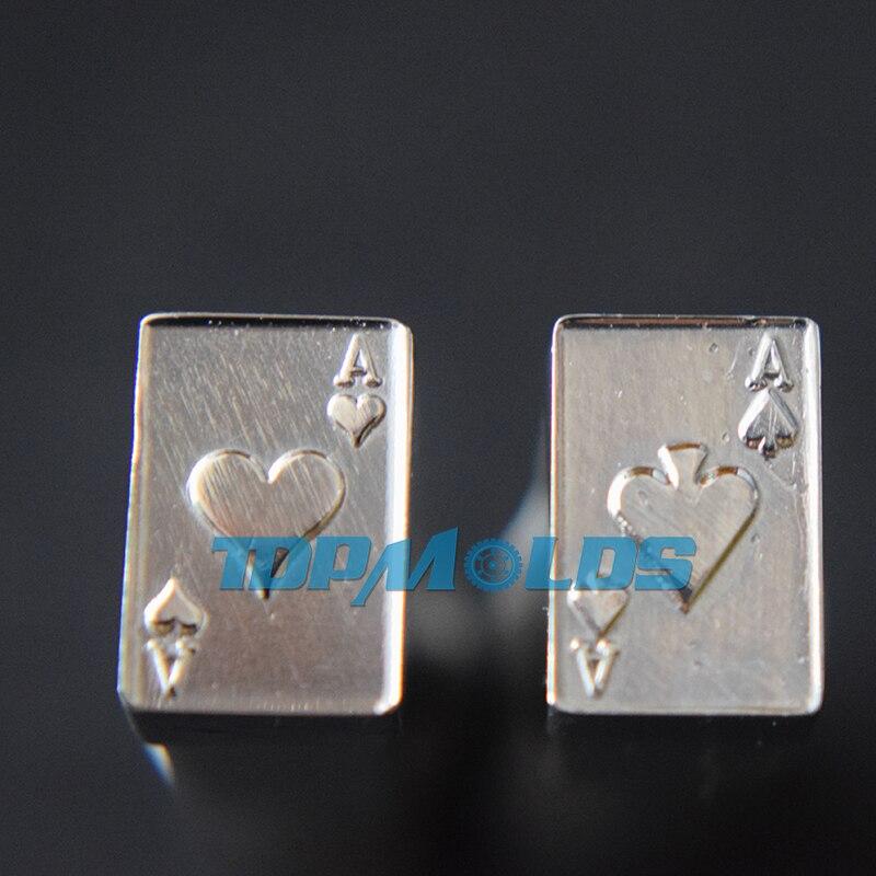 3D POKER Tablet Die 3D Pill Press Mold Candy Punching Die Custom Logo Calcium Tablet Punch Die