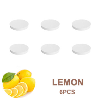 6 sztuk odświeżacz powietrza do samochodu Refill solidna gąbka zapach Rose Lemon Cologne zapach zapach dla azotu NOS butelka dyfuzor do perfum tanie i dobre opinie KOM POWER CN (pochodzenie) Vent Outlet 18mm Plastikowe + Stop Stałe