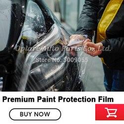 Revestimiento de vinilo transparente de alta calidad con recubrimiento de protección autocurativo PPF brillante pegatinas ppf para envolver el coche 1,52 m * 15m