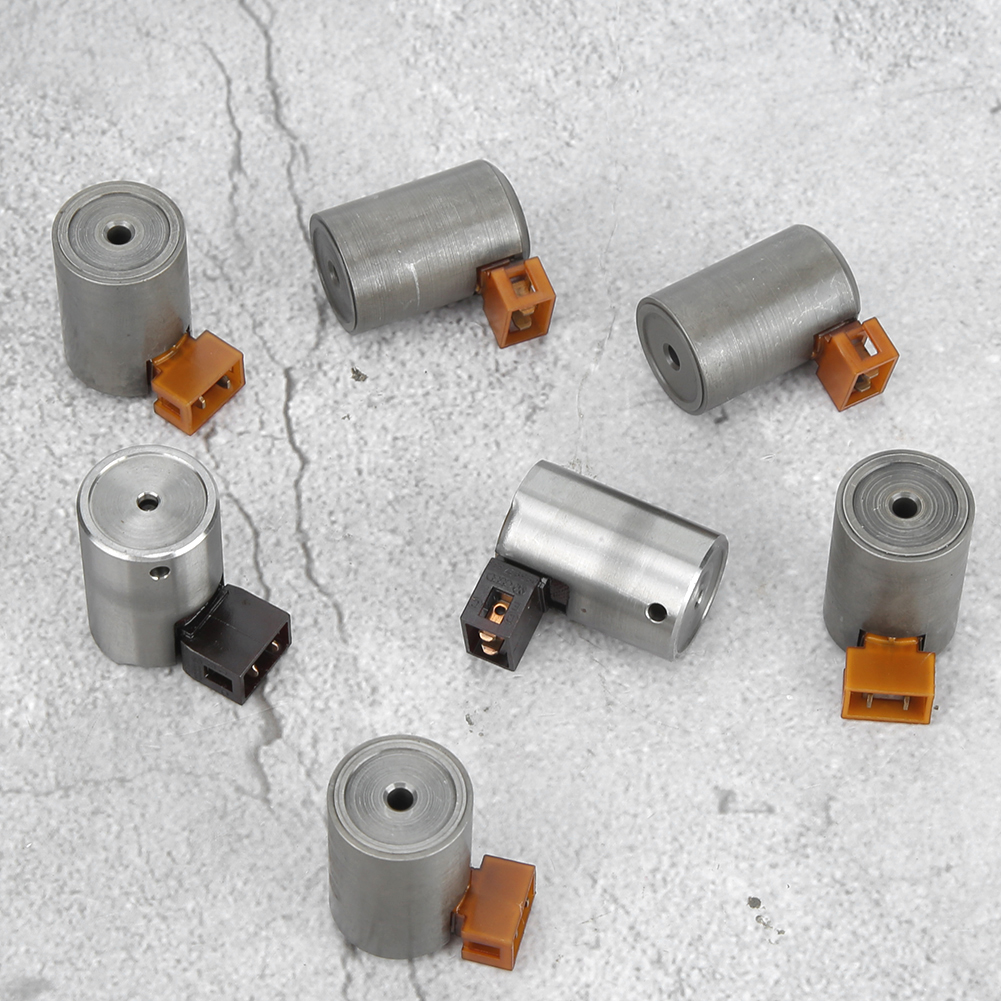 7pcs Transmission Shift Solenoid Kit Accessory Fit For Audi A3 A4 A6 For Skoda Octavia For New Beetle Bora