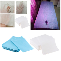 40 Pieces Nonwoven Disposable Bed Sheet Paper for Inconvenience, Massage Table Sheet, Facial Beauty, Wax Chair Covers
