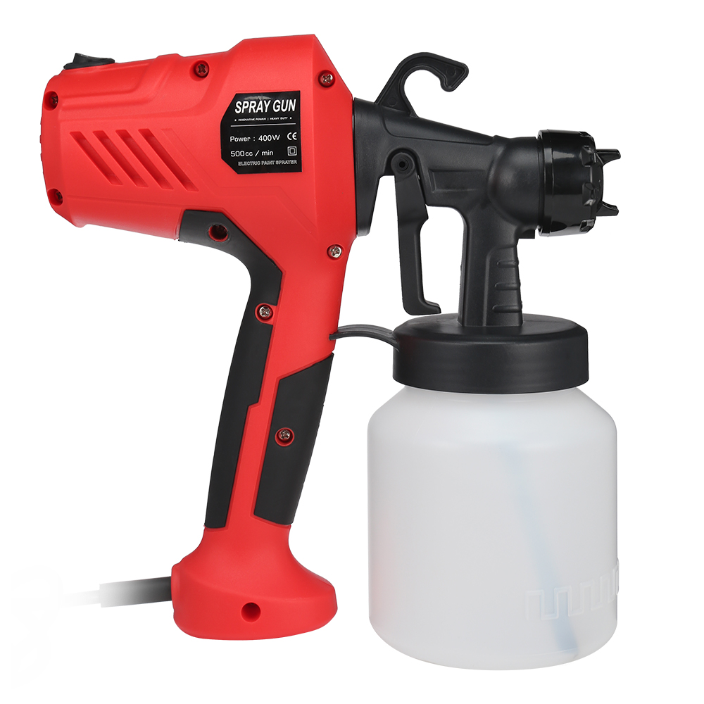 400W Adjustable High Voltage Electric Paint Sprayer Used As Wall Painting And Home Furniture And Other 2