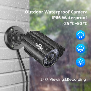 Image 3 - 8CH Cctv Systeem 4 Pcs 5MP Outdoor Waterdichte Bewakingscamera Dvr Kit Video Surveillance System Hiseeu