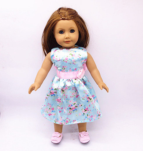 2020 Cute Skirts New Born Baby Doll Clothes for 18