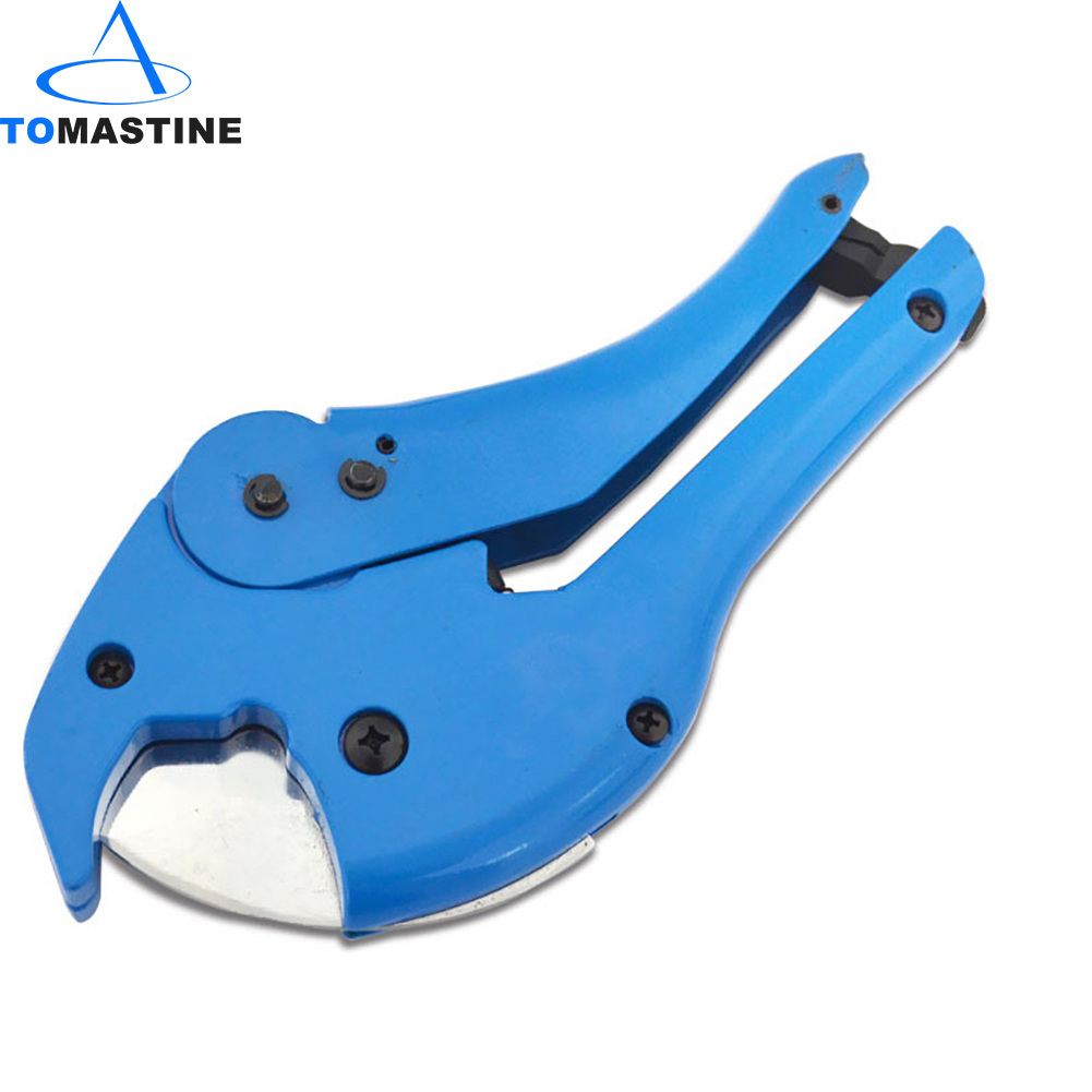 Ratchet 42mm Plastic Pipe Cutter Plumbing Tool PVC Water Hose Tube 5 Types