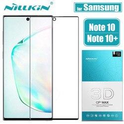 Do Samsung Galaxy Note 10 Plus Pro 5G ochraniacz ekranu ze szkła NILLKIN 3D pełny klej pokrywa szkło hartowane dla note10 Pro uwaga 10 +