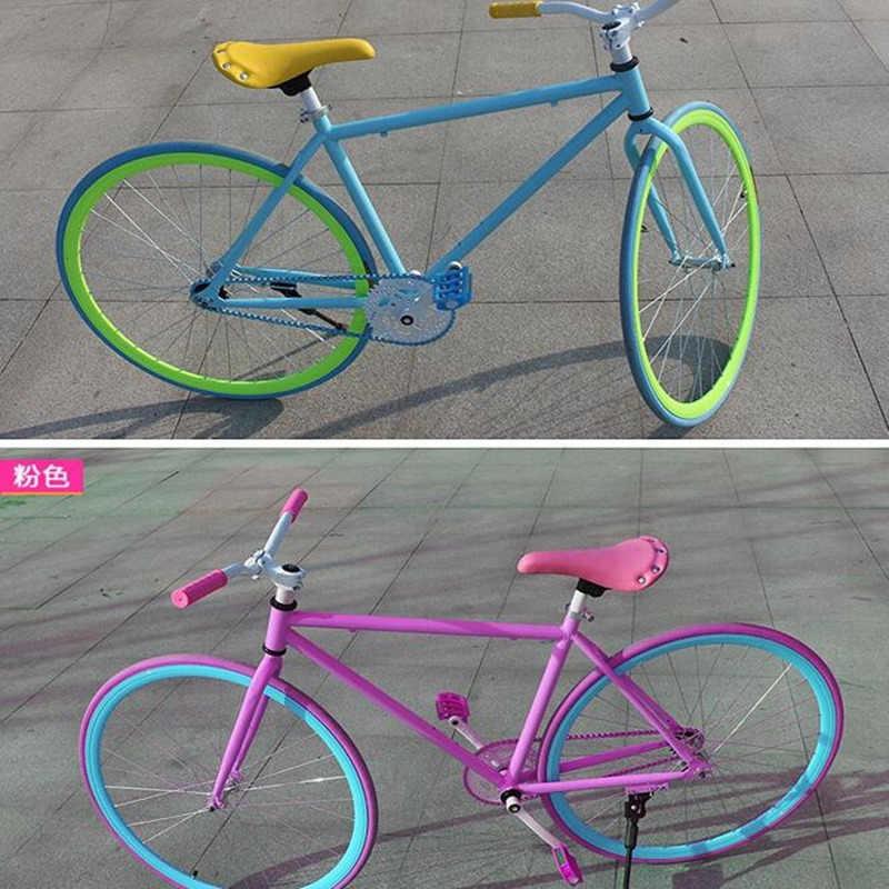 Q293 sella Della Bicicletta sella della bici della strada cuscino del sedile di colore del pacchetto retro Liu chiodo impermeabile sella della sede accessori