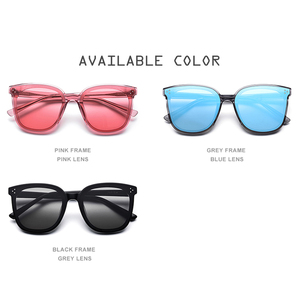 Image 5 - HEPIDEM Brand New Korean Design Women Gentle Sunglasses Cat Eye Sunglass Men Oversized Sun glasses for Women gm Jack Bye