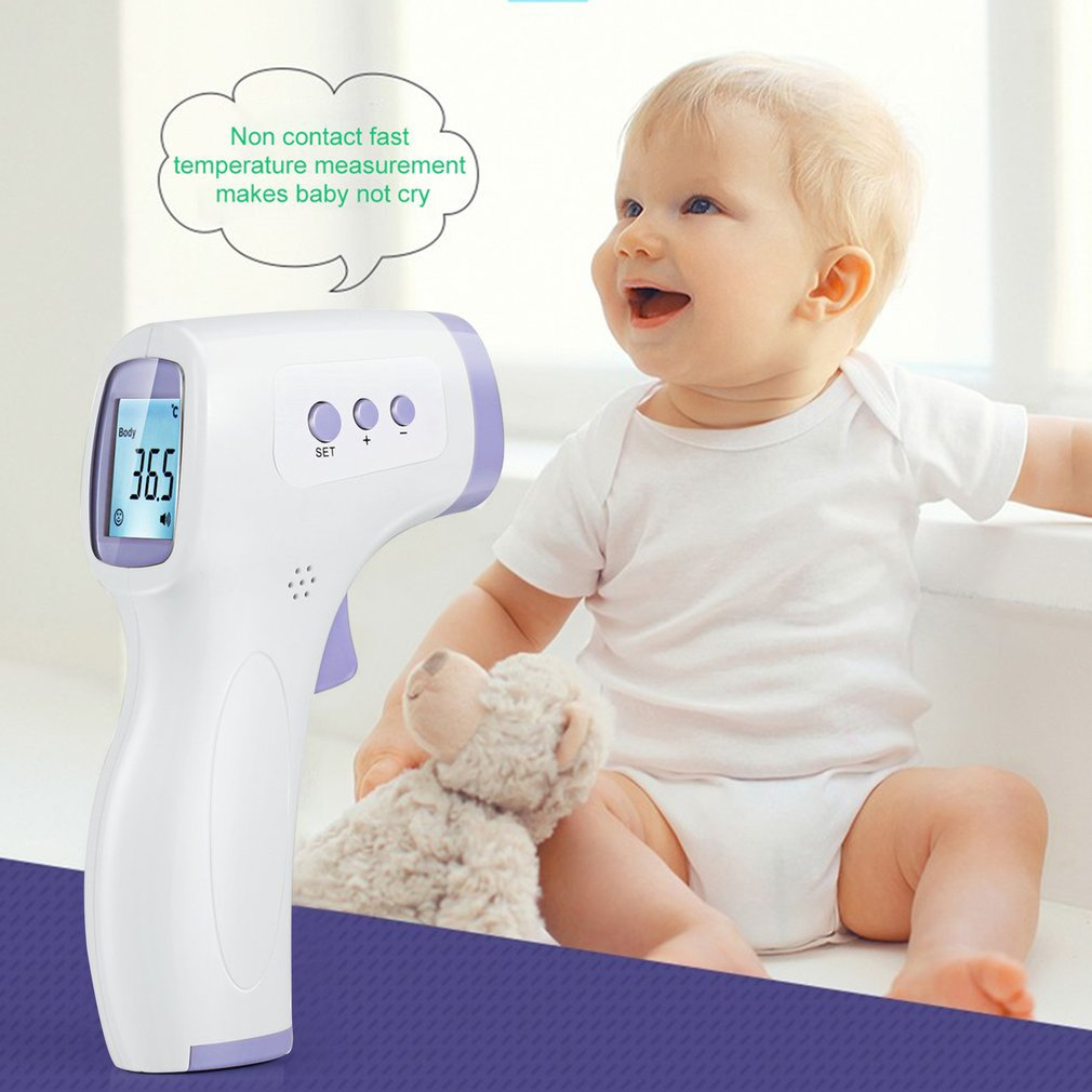 Thermometer Infrared Measure Fever Infrared Digital Thermometer For Body Forehead Measurement Non-Contact IR Termometro
