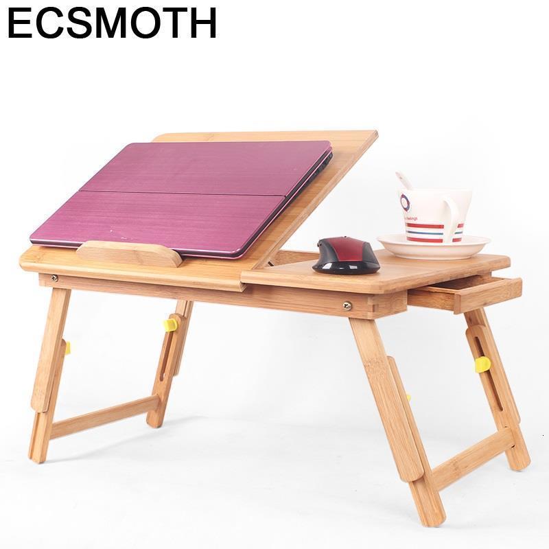 Mueble Dobravel Small Portatil Tisch Adjustable Schreibtisch Mesa Notebook Bambu Laptop Stand Tablo Computer Desk Study Table