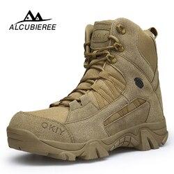 2020 зимние ботинки мужские теплые зимние ботинки мужские высококачественные зимние ботинки «милитари» мужская кожаная обувь мужские водон...