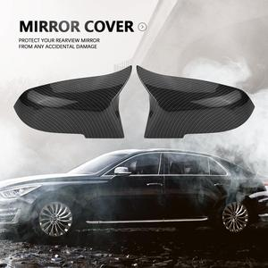 Image 3 - 1 Pair ABS Plastic Rearview Mirror Cover Cap for BMW 220i 328i 420i F20 F21 F22 F30 F32 F33 F36 X1 E84