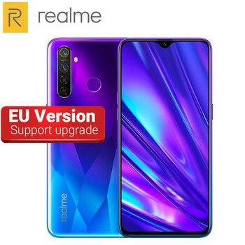 Перейти на Алиэкспресс и купить Европейская версия 6,3 дюйма Realme 5 Pro 48MP Quad Camera мобильный телефон 8 ГБ ОЗУ 128 Гб ПЗУ 4035 мАч Восьмиядерный Snapdragon 712 4G смартфон
