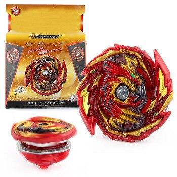 TOMY Beyblade B155 señor dragón Diaporos giroscopio rotativo imperio Dios dragón Spinner Top juguete con transmisor de doble presión