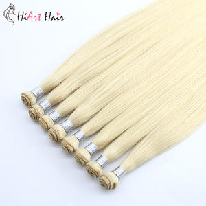 Hiart Weft Hair-Extension Hand-Tied 18-20-14g/pc Real 22-