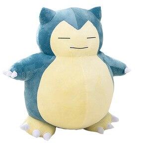 30-200cm Snorlax pluszowa poduszka duża miękka anime kieszeń snorlax pluszowa zabawka z zamkiem błyskawicznym tylko pokrywa bez wypełnienia dzieci prezent na boże narodzenie