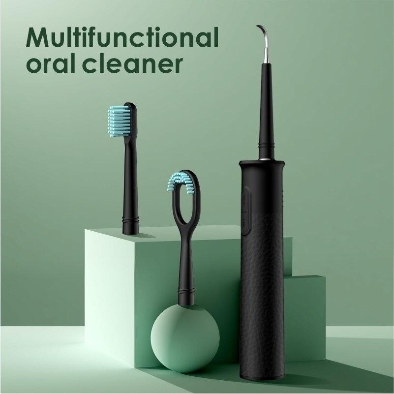 Elétrica portátil ultra sônico removedor de cálculo dental scaling scaler sônico manchas fumaça tártaro placa dentes água branca flosser