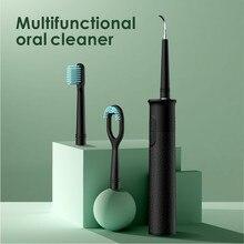 Détartreur dentaire électrique Portable Ultra sonique, détartreur dentaire, taches de fumée, Plaque de tartre, soie dentaire à eau blanche