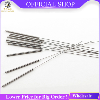 500pcs Free Shipping Acupuncture Needle Sterile Acupuncture Needles with Tube Disposable Needle + Tube Beauty Acupuncture hand acupuncture needles injector acupuncture needle locator strength stainless steel traditional chinese acupuncture treatment