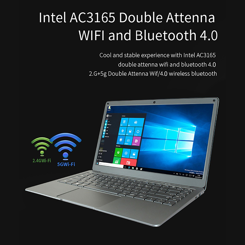 Jumper Ezbook X3 13.3 Inch Ips Screen Laptop Intel N3350 6Gb 64Gb Emmc 2.4G/5G Wifi Notebook with M.2 Sata Ssd Slot
